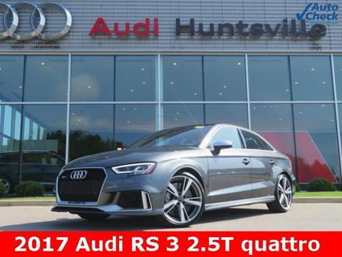 2017 Audi RS 3 for sale in Huntsville, AL