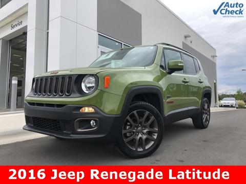 2016 Jeep Renegade for sale in Huntsville, AL