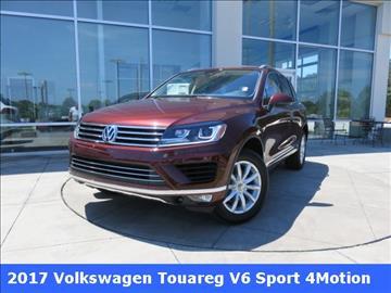 2017 Volkswagen Touareg for sale in Huntsville, AL