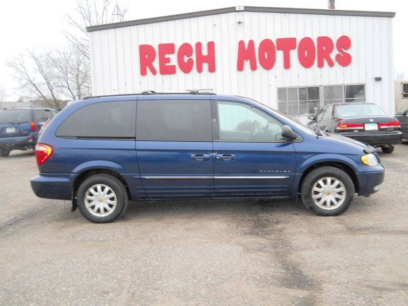 2001 chrysler town and country lxi 4dr extended mini van in princeton mn rech motors. Black Bedroom Furniture Sets. Home Design Ideas