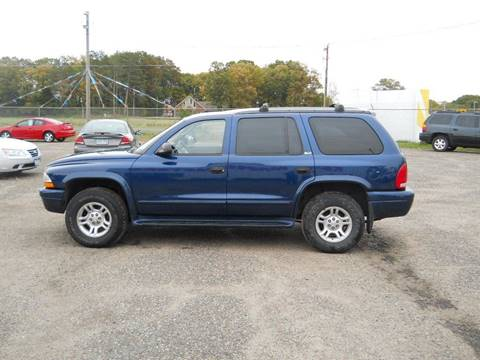 2002 Dodge Durango for sale in Princeton, MN