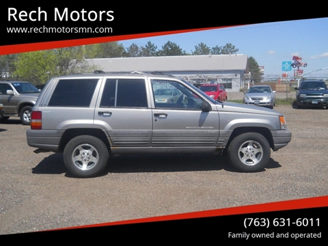 1998 Jeep Grand Cherokee for sale in Princeton, MN