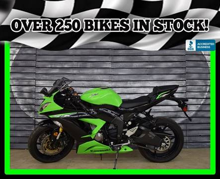 2013 Kawasaki Ninja ZX-6R for sale in Mesa, AZ