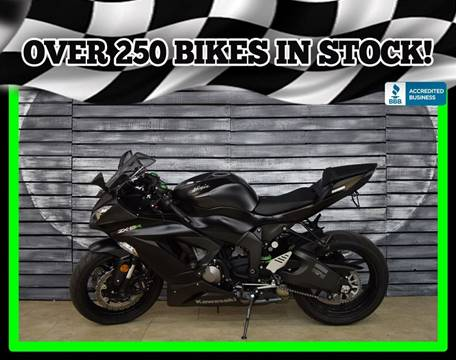 2015 Kawasaki Ninja ZX-6R for sale in Mesa, AZ