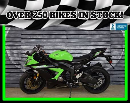 2014 Kawasaki Ninja ZX-6R for sale in Mesa, AZ