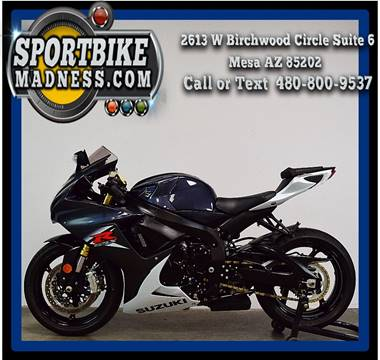 2015 Suzuki GSX-R750 for sale in Mesa, AZ