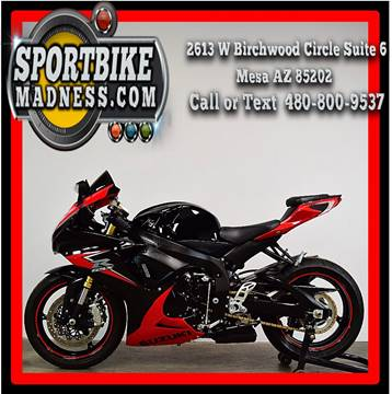 2014 Suzuki GSX-R750 for sale in Mesa, AZ