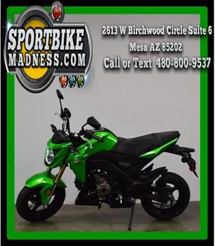 2017 Kawasaki BR125JHF Z125 Pro for sale in Mesa, AZ