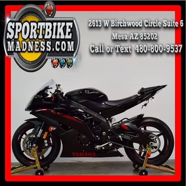 2015 Yamaha Yzf-R6 In Mesa AZ - Sportbikemadness com