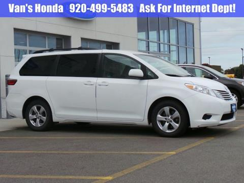 2015 Toyota Sienna for sale in Green Bay, WI
