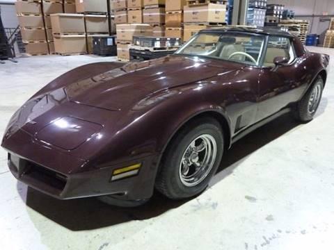 1980 chevrolet corvette for sale in michigan. Black Bedroom Furniture Sets. Home Design Ideas