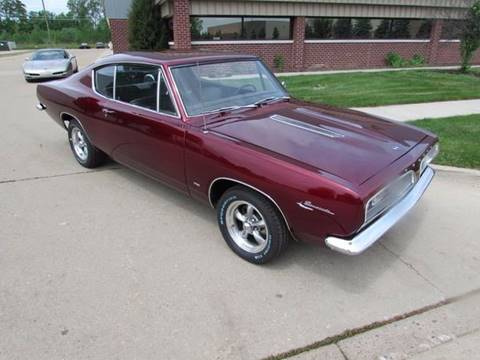 1967 Plymouth Barracuda for sale in Macomb, MI
