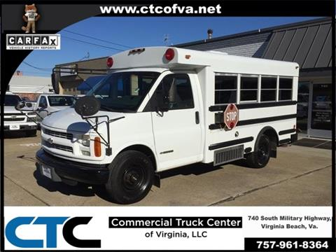 2002 Chevrolet G3500 for sale in Windsor, NC