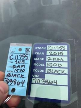 2015 RAM Ram Pickup 1500 for sale in Windsor, NC