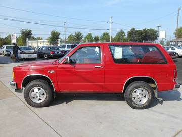 1986 Chevrolet S-10 Blazer for sale at Mike's Auto Sales of Charlotte in Charlotte NC