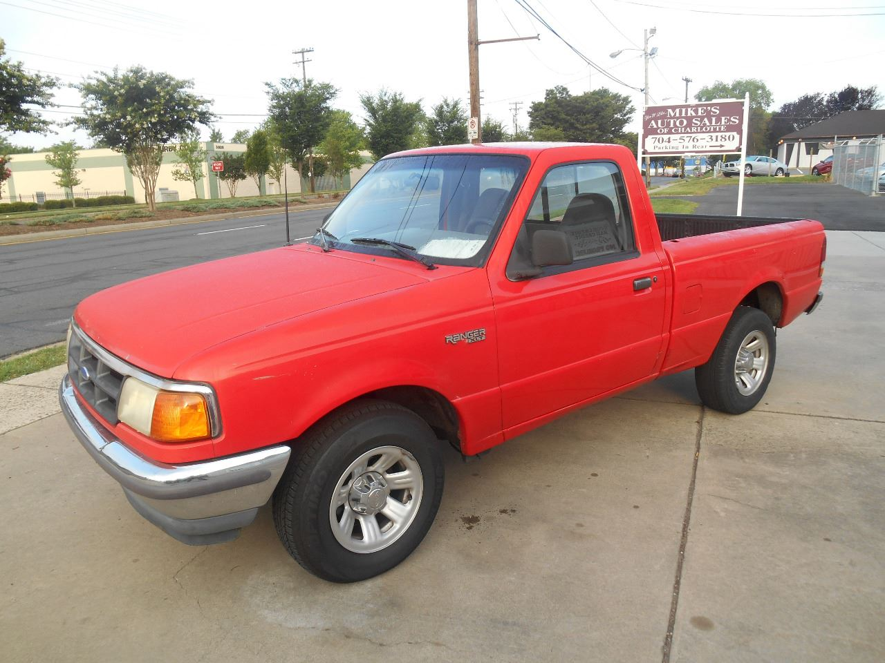 1994 Ford Ranger for sale at Mike's Auto Sales of Charlotte in Charlotte NC