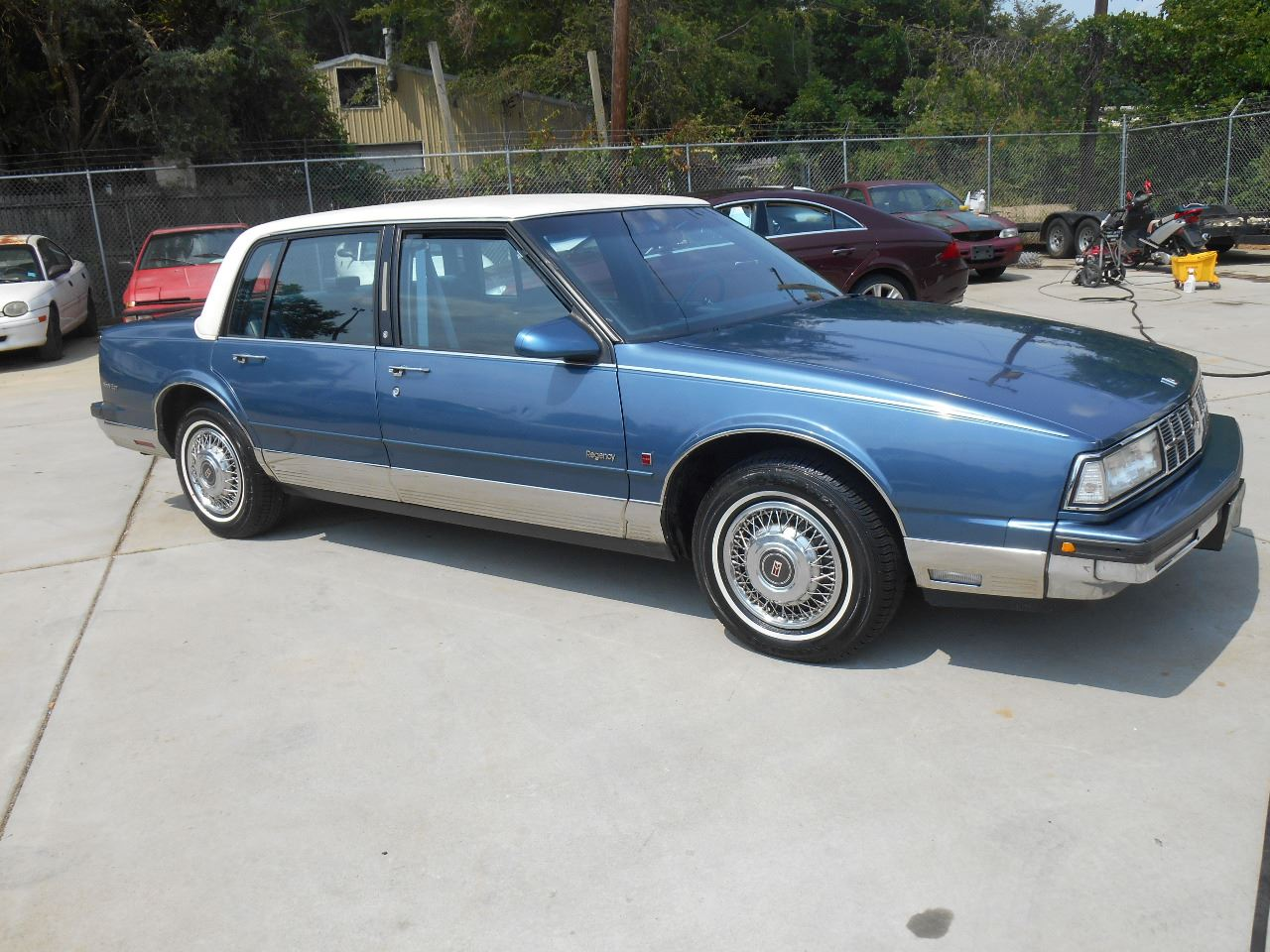 1989 Oldsmobile Ninety-Eight for sale at Mike's Auto Sales of Charlotte in Charlotte NC