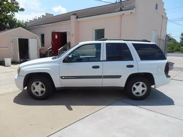 2003 Chevrolet TrailBlazer for sale at Mike's Auto Sales of Charlotte in Charlotte NC