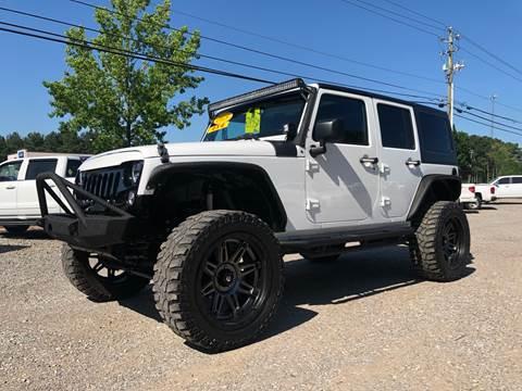 2015 Jeep Wrangler Unlimited for sale in Mc Calla, AL