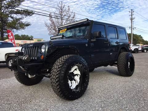 2007 Jeep Wrangler Unlimited for sale at 216 Auto Sales in Mc Calla AL