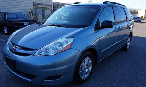 2007 Toyota Sienna for sale at Richmond Auto Sales LLC in Richmond VA