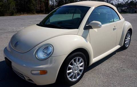 2005 Volkswagen New Beetle for sale at Richmond Auto Sales LLC in Richmond VA