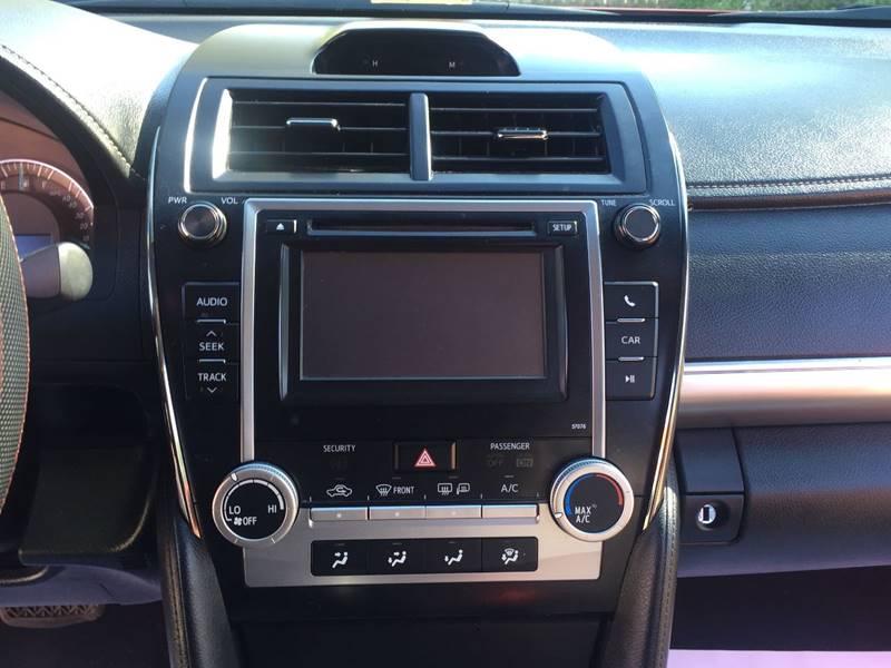 2013 Toyota Camry SE 4dr Sedan - Richmond VA