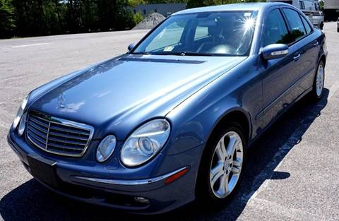 2006 Mercedes-Benz E-Class for sale at Richmond Auto Sales LLC in Richmond VA