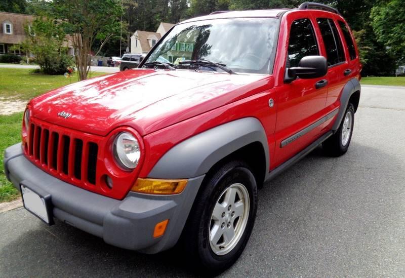 2005 Jeep Liberty for sale at Richmond Auto Sales LLC in Richmond VA