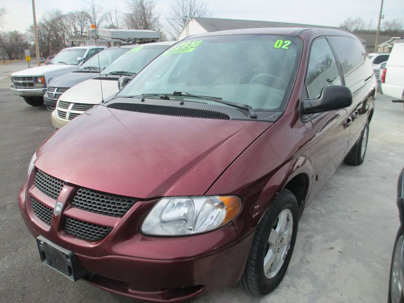 2002 Dodge Grand Caravan For Sale At Burtu0027s Discount Autos In Pacific MO