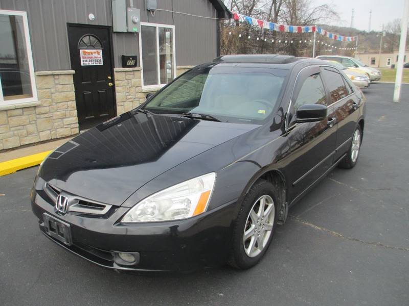 2003 Honda Accord for sale at Burt's Discount Autos in Pacific MO