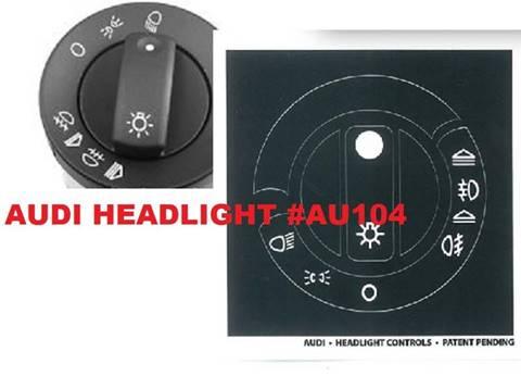 Audi Headlight Control Decals for sale in Gautier, MS