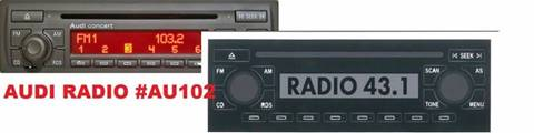 Audi Radio Replacement Decals for sale in Gautier, MS