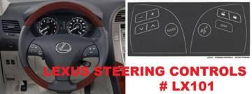 Lexus Steering Control Decals for sale in Gautier, MS