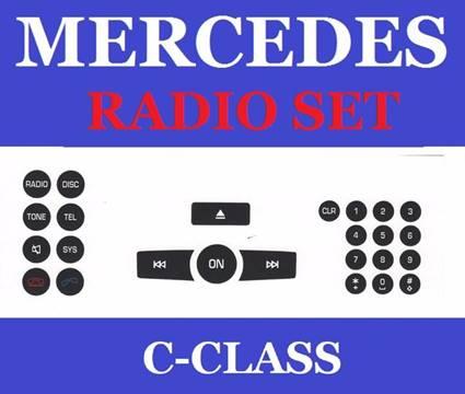 Mercedes-Benz Radio Decals for sale in Gautier, MS