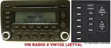 Volkswagen Jetta Radio for sale in Gautier, MS
