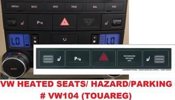 Volkswagen Heated Seats/Hazard/Parking for sale in Gautier, MS