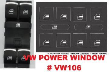 Volkswagen Power Window Decals for sale in Gautier, MS