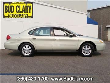 2007 Ford Taurus for sale in Longview, WA