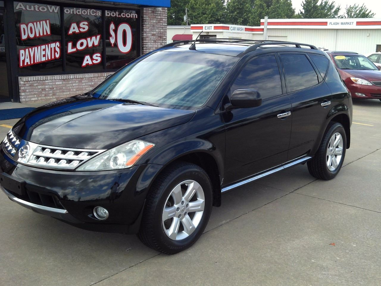 2006 nissan murano sl 4dr suv in cabot ar autoworld of cabot. Black Bedroom Furniture Sets. Home Design Ideas