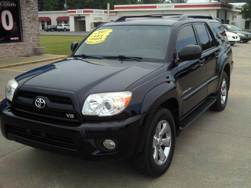 2007 toyota 4runner limited 4dr suv 4wd v8 in cabot ar autoworld of cabot. Black Bedroom Furniture Sets. Home Design Ideas