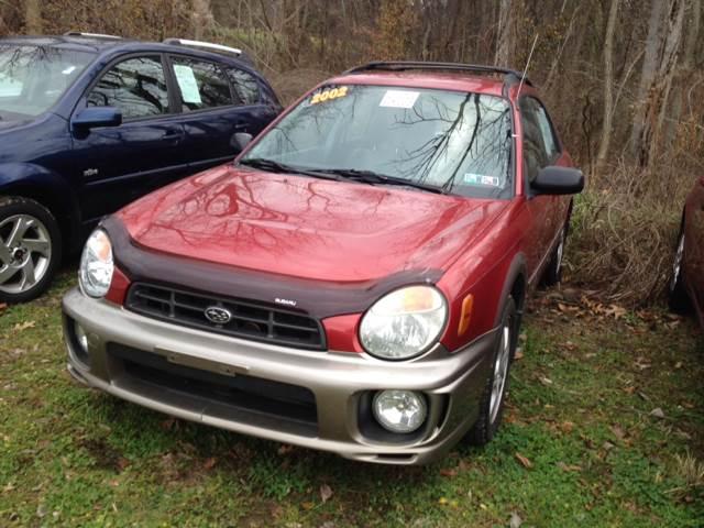 2002 Subaru Impreza for sale at Boardman Auto Mall in Boardman OH