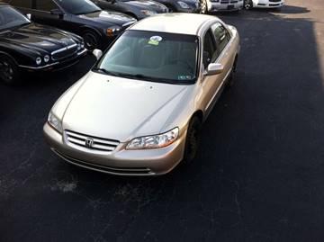 2002 Honda Accord for sale at Boardman Auto Mall in Boardman OH