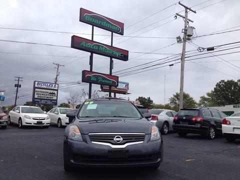 2009 Nissan Altima for sale at Boardman Auto Mall in Boardman OH
