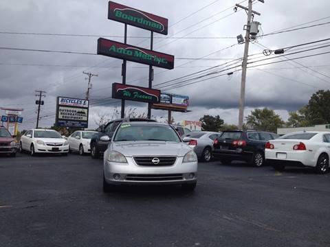 2004 Nissan Altima for sale at Boardman Auto Mall in Boardman OH