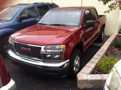 2004 GMC Canyon for sale at Boardman Auto Mall in Boardman OH