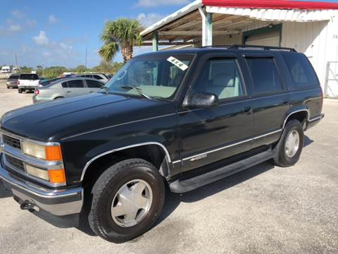 1996 Chevrolet Tahoe For Sale In Fort Pierce FL