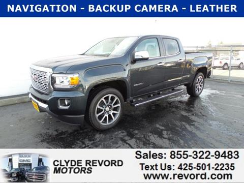 New gmc canyon for sale in washington for Clyde revord motors everett wa