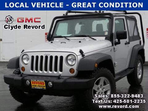 2011 Jeep Wrangler for sale in Everett, WA