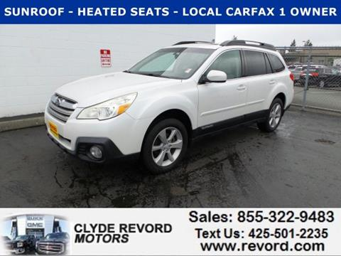 2013 Subaru Outback for sale in Everett, WA